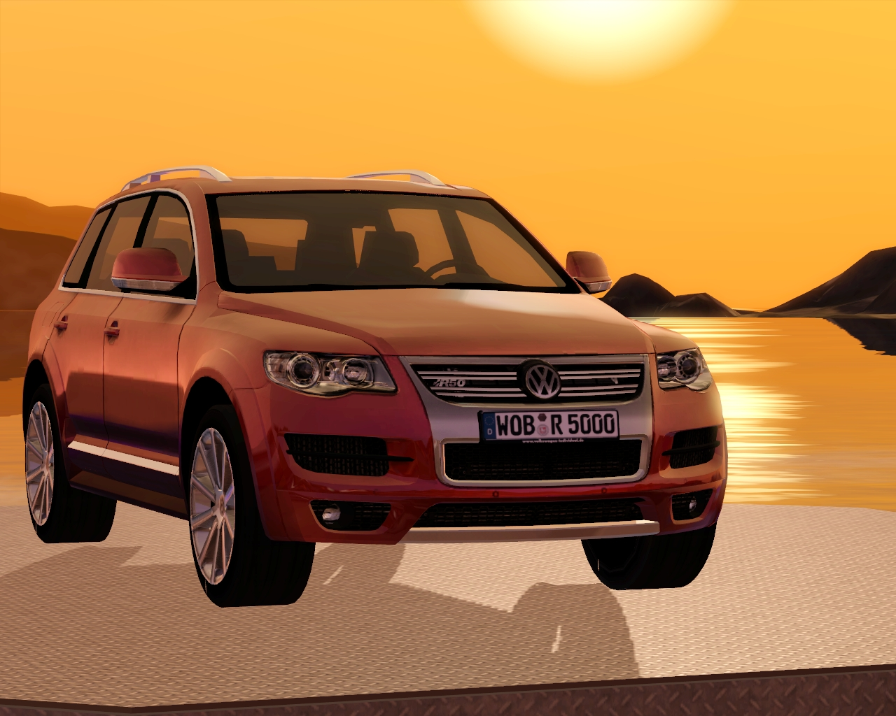 2008 Volkswagen Touareg R50 by Fresh-Prince