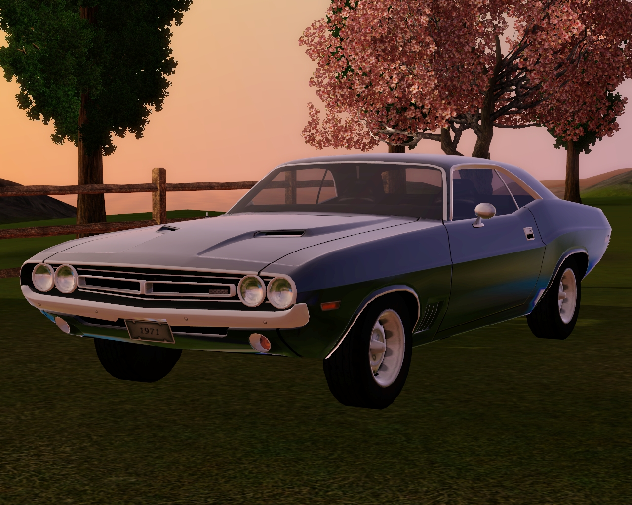 1971 Dodge Challenger by Fresh-Prince