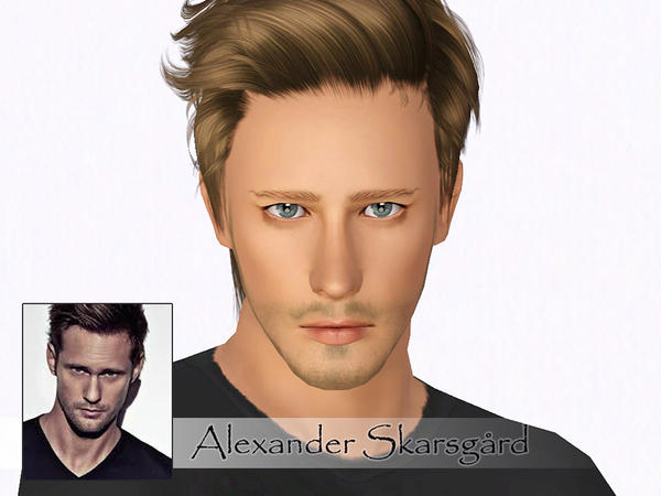 Alexander Skarsgaard by Ms Blue