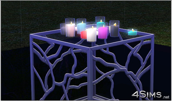 Romantic Candles by Mirel