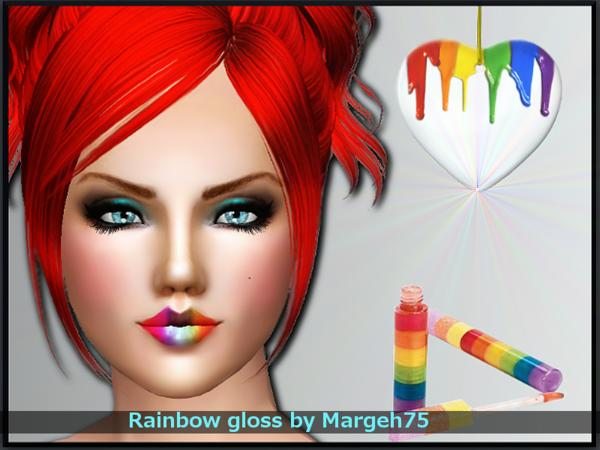 Rainbow Gloss by Margeh-75