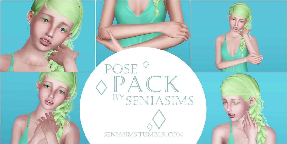 Pose pack 2 by Seniasims