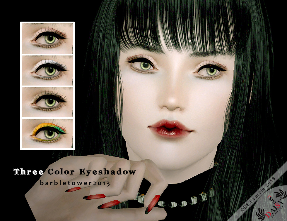 Three Color Eyeshadow by Barble