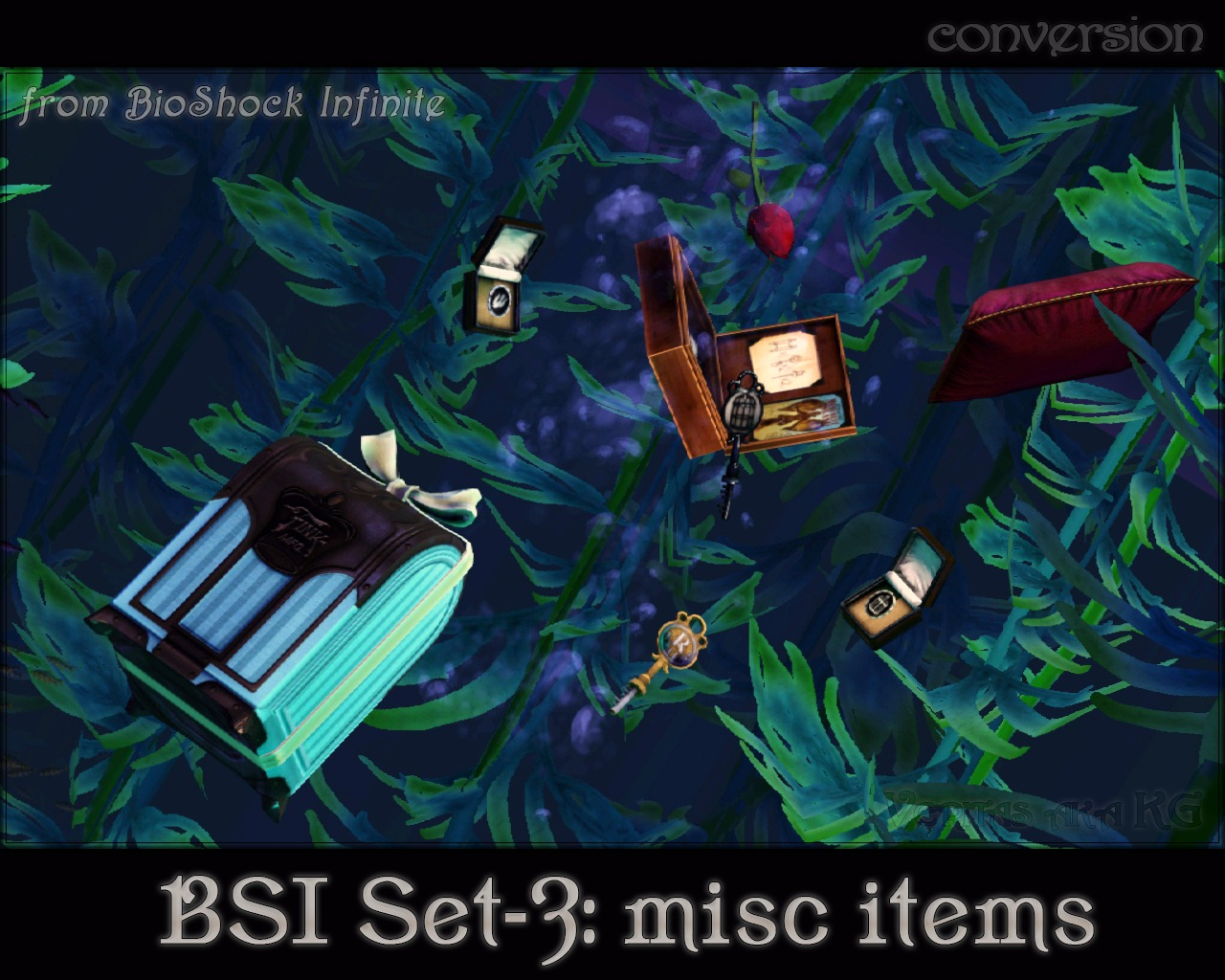 BioShock Infinite Misc Items by Veritas aka KG