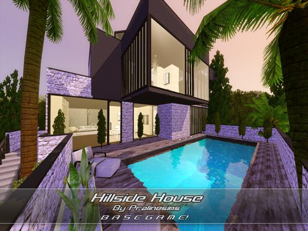 Hillside House by Pralinesims