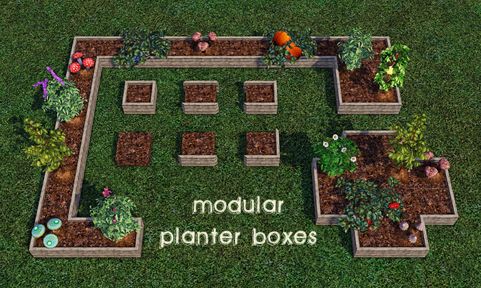 Modular Planter Boxes by GelinaBuilds