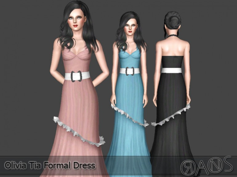 Olivia Tia Formal Dress by Oranossims