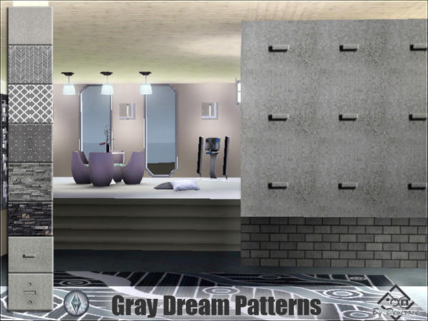 Gray Dreams Patterns by Devirose