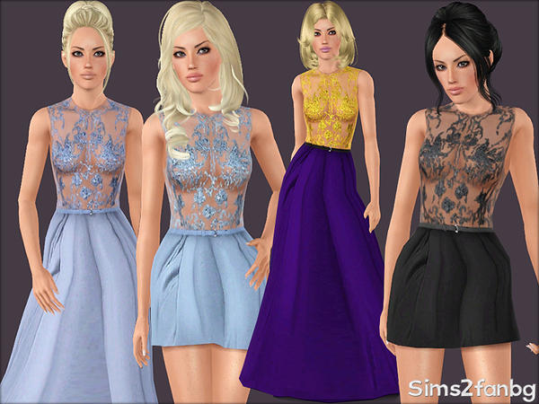 346 - Formal dresses by sims2fanbg