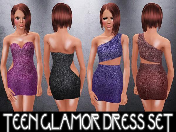 TEEN Glamor Cocktail Dresses by Alexandra_Sine