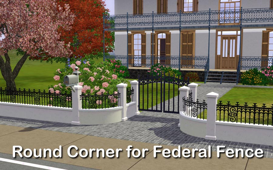 Most Viewed - Round Corner for Federal Fence by Lisen801