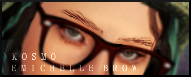 Arista and Emichelle Brows by Kosmosims3khaos