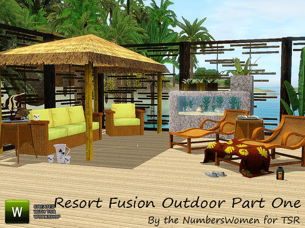 Resort Outdoor Fusion Part One by riccinumbers