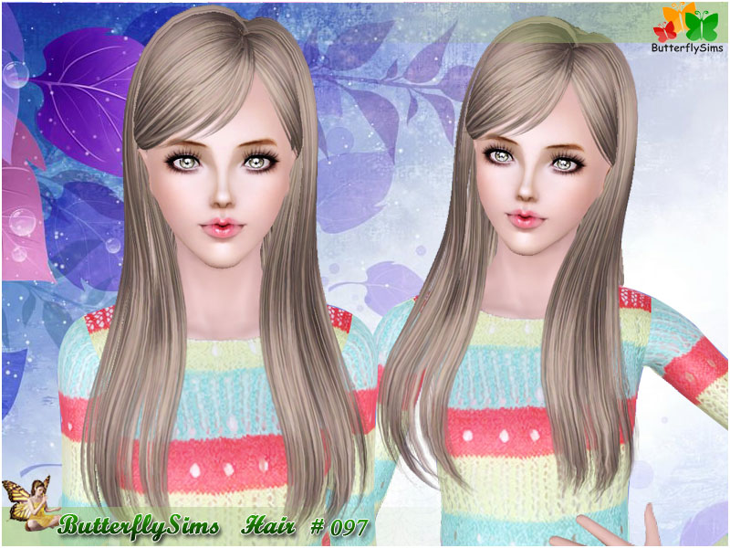 Hairstyle 097 by ButterflySims