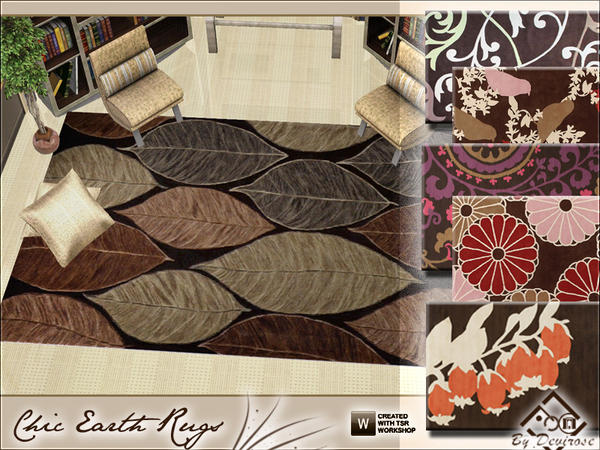 Chic Earth Rugs Collection by Devirose