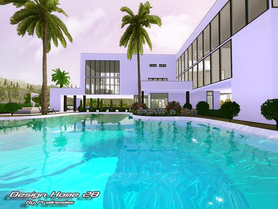 Design Home 28 •No CC/FF• By Pralinesims