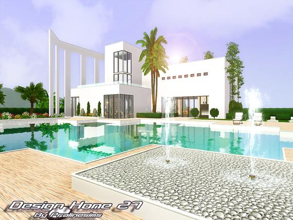 Design Home 27 •No CC/FF• By Pralinesims