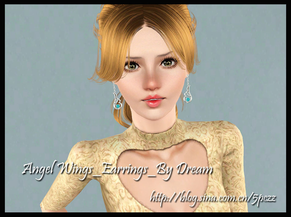 Angel Wings Earrings by Dream