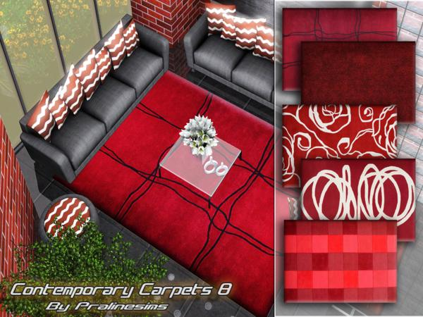 Contemporary Carpets 8 by Pralinesims