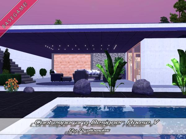 Contemporary Designer House V by Pralinesims