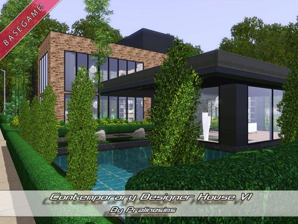 Contemporary Designer House VI by Pralinesims