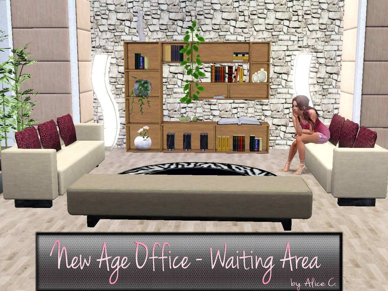 New Age Office Set by Alice C