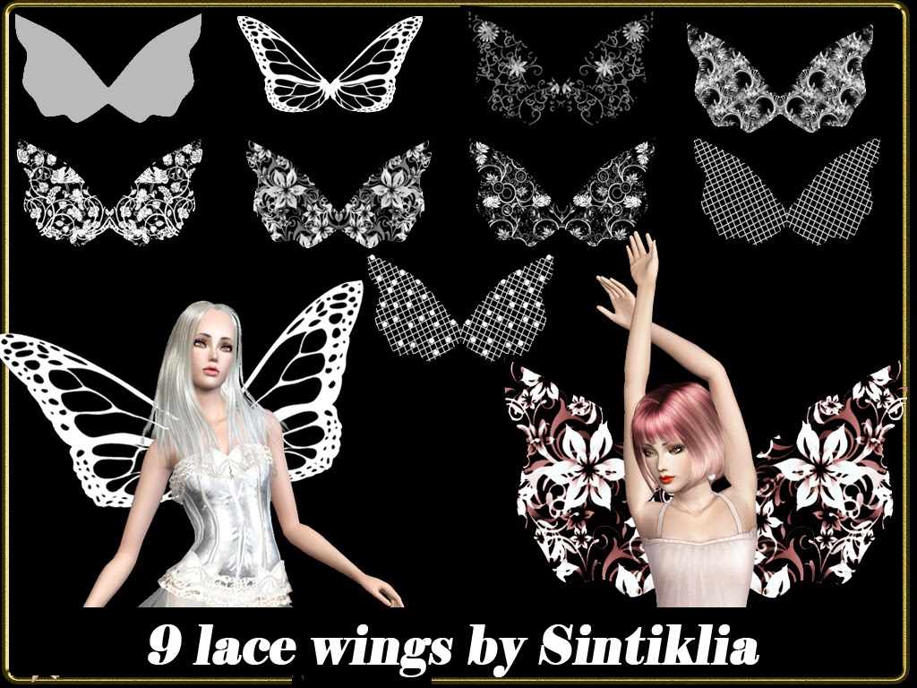 9 Lace Wings by Sintiklia