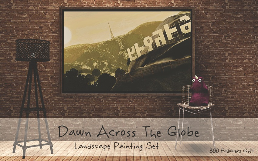 Dawn Across The Globe Painting Set