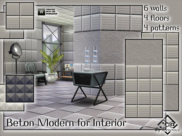 Beton Modern for Interior by Devirose