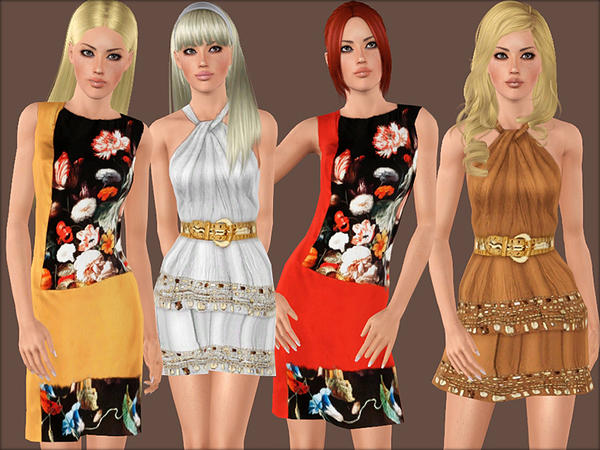 348 - Bohemian set by sims2fanbg