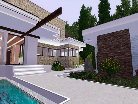 Balinese Luxury Villa By Pralinesims