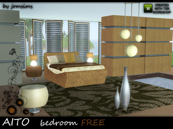 Aito bedroom by jomsims