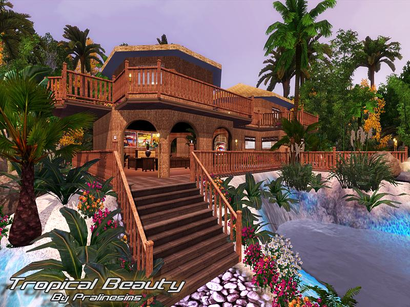 Tropical Beauty Set by Pralinesims