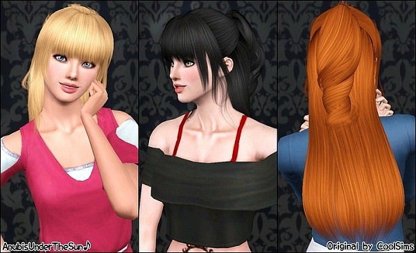 CoolSims Female Hair 43 Converted by Anubis360