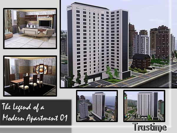The Legend of a Modern Apartment 01 By Trustime