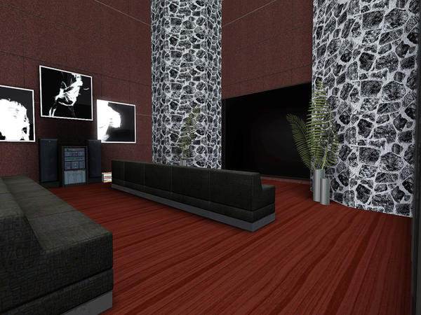 *Free* Hollywood Apartment By Pralinesims