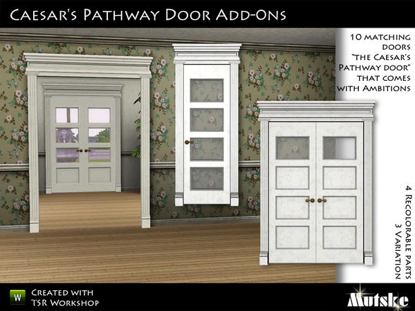 Caesars Pathway Doors Add-ons by mutske