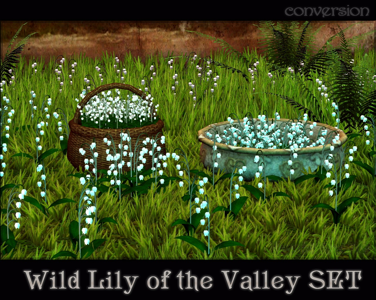 Wild Lily Of The Valley Set by Veritas