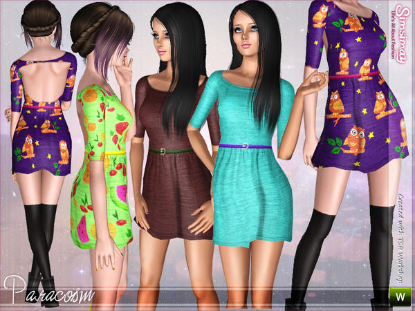 Paracosm Dress by Simsimay
