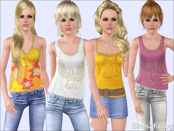 350 - Casual set for teens by sims2fanbg