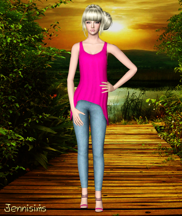 Clothes from University Life Base Game Compatible by Jenni