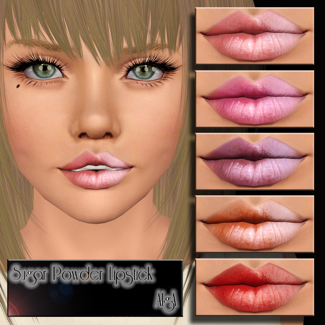 Sugar Powder Lipstick by AlgA