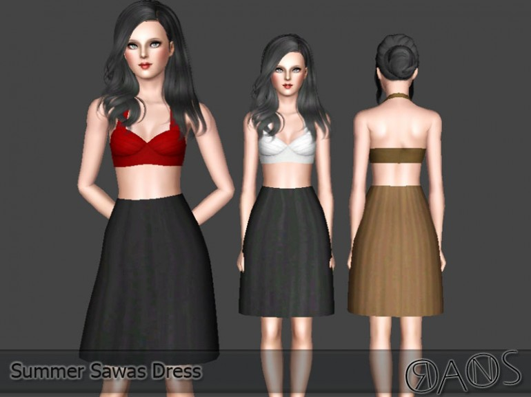 Summer Sawas Dress by Oranossims