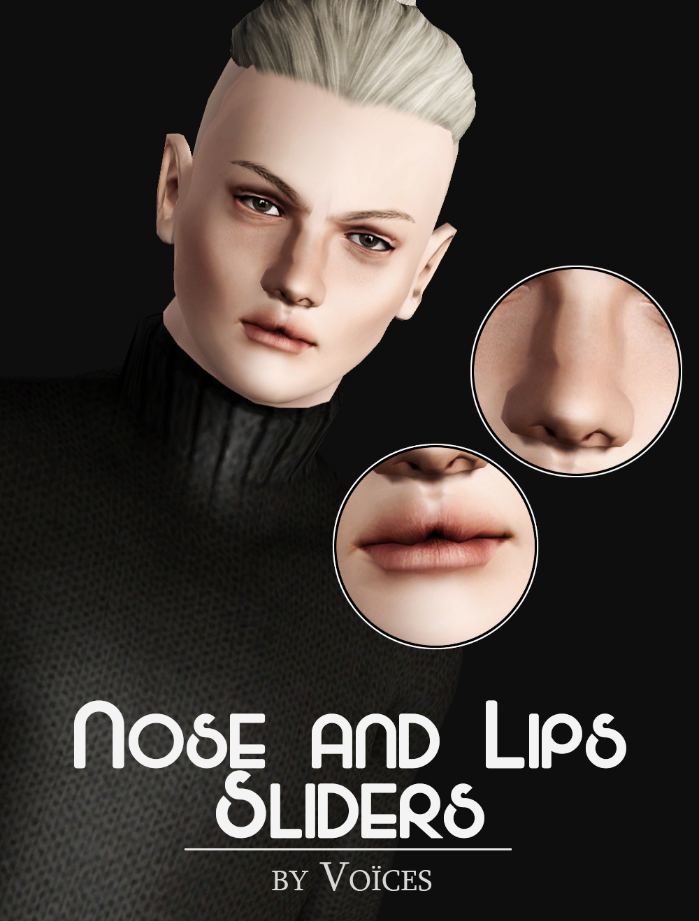 Nose and Lips Sliders by Voices