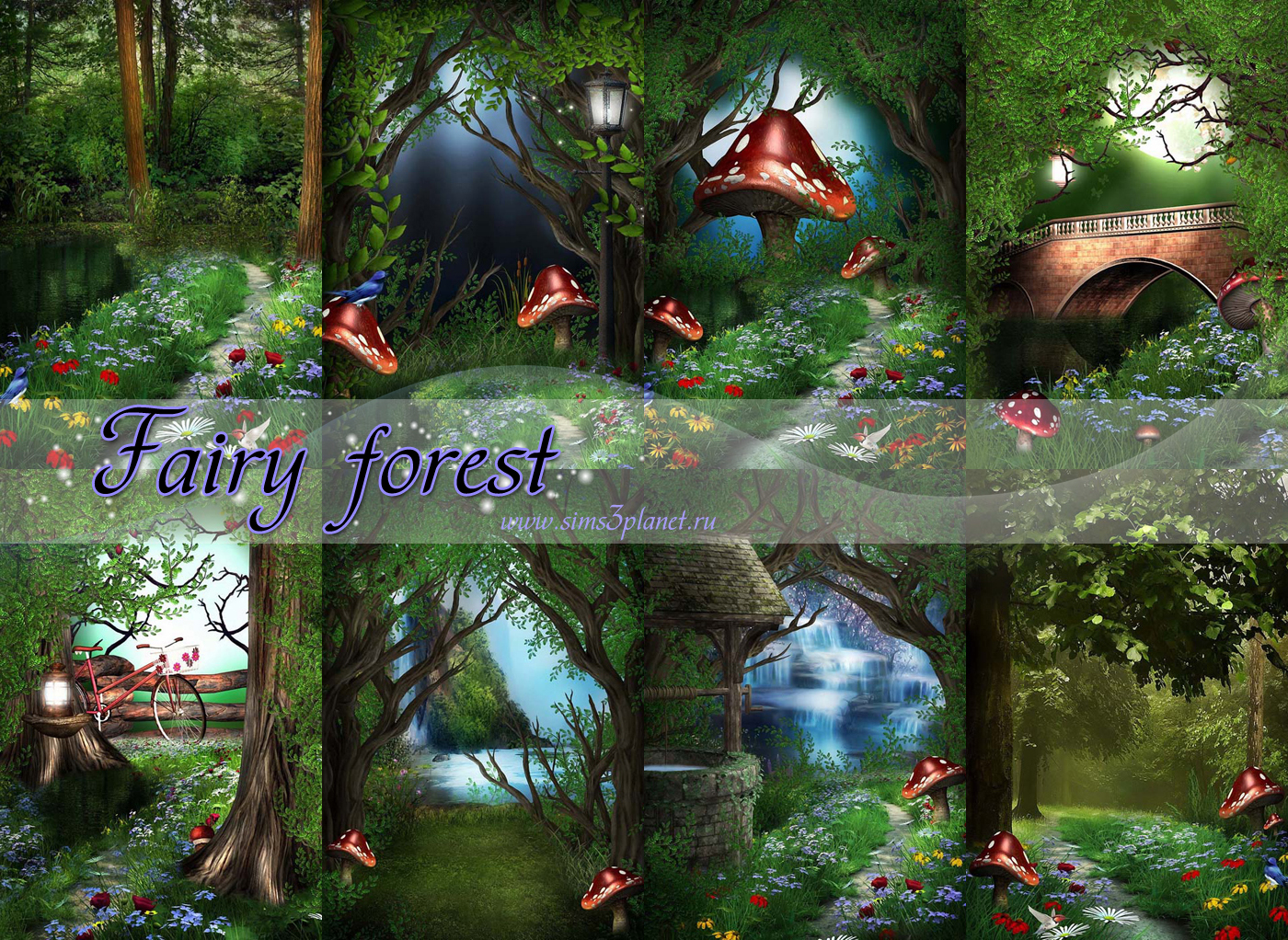 Fairy forest by Torri