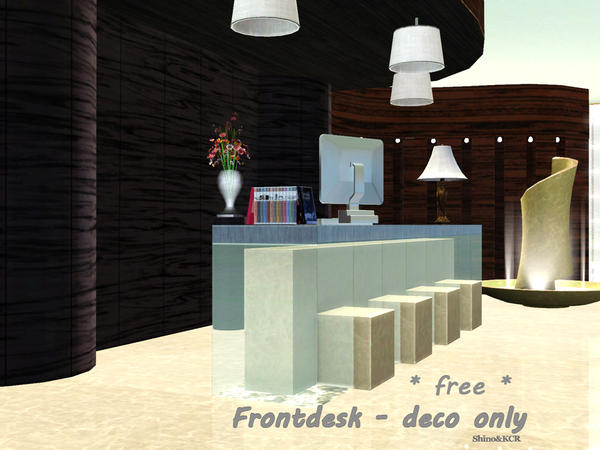 Front Desk for Basegame by Shino&KCR