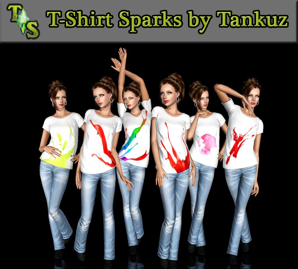 T-Shirt Sparks by Tankuz
