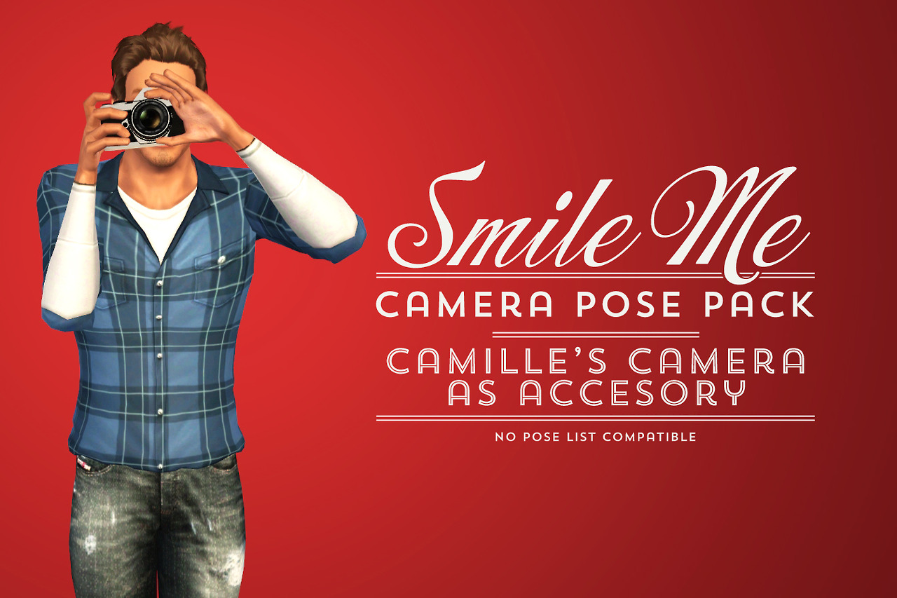 Camera Pose Pack and Camilles Camera as Accessory by Shokoninio