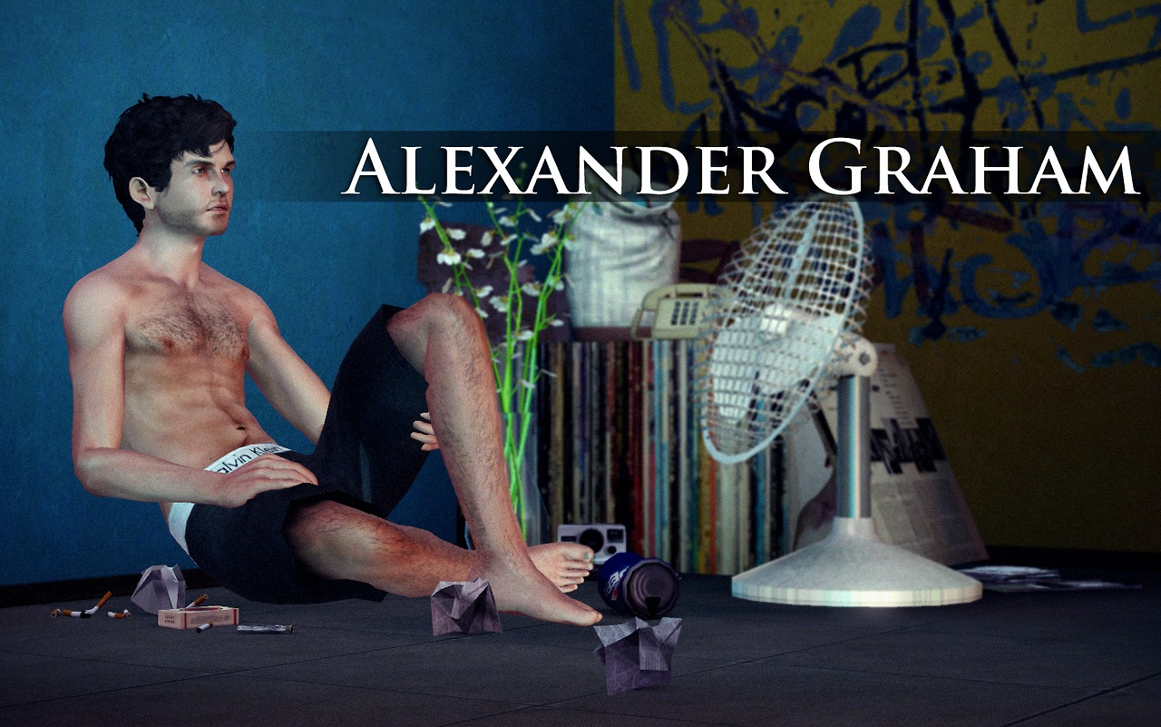 Alexander Graham by Faalq