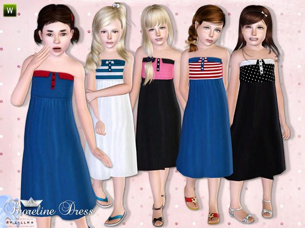 Shoreline Dress by lillka